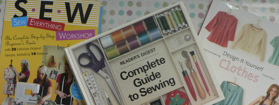 recommended sewing books