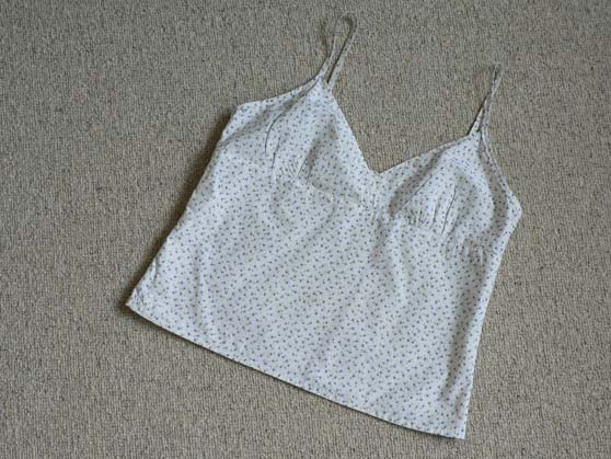 My version of the cami from pattern 20 of 'everyday tops'