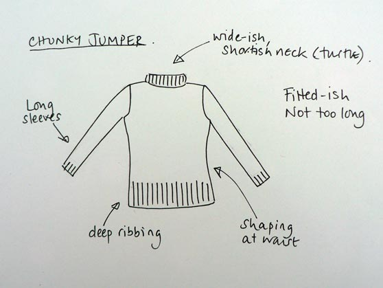 simple sketch of jumper design