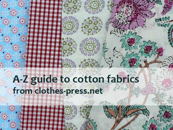 examples of cotton fabrics