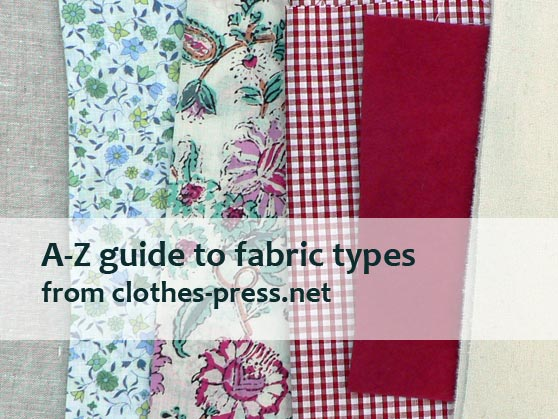 examples of different types of fabric