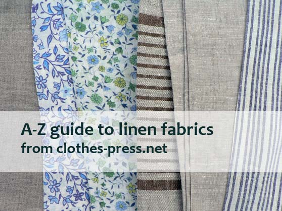 examples of different linen fabrics