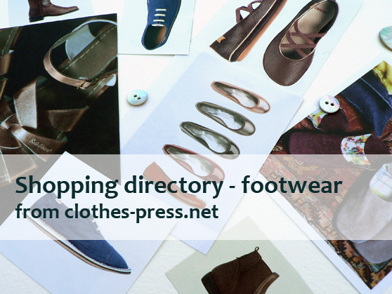 clothes-press shopping directory - footwear