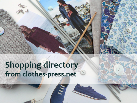 clothes-press shopping directory - introduction