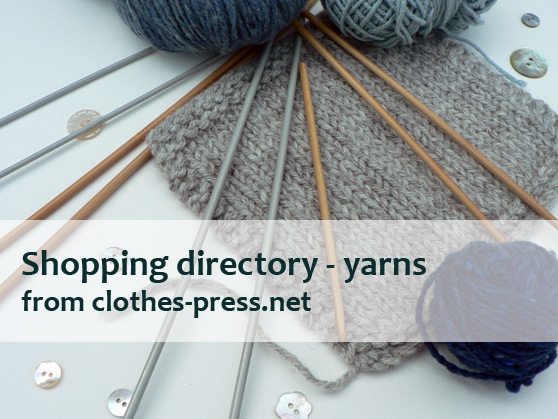 clothes-press shopping directory - yarns